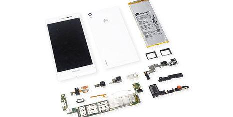 Huawei Ascend P7 teardown | Smartphone DIY Repair Guide | Scoop.it