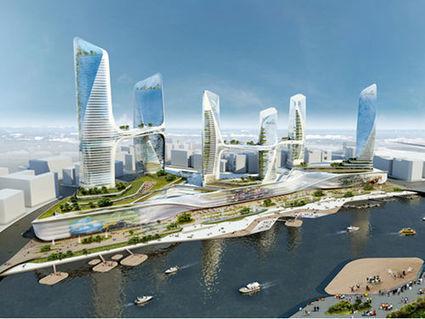 [DisneyLand Architecture] Tongzhou, le quartier d'affaires de Pékin, dans sa version futuriste | The Architecture of the City | Scoop.it