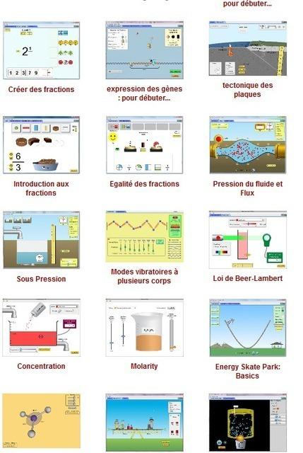 Gratuit : Simulateurs Fr 2013 de phénomènes physiques intéractifs - PhET project Université du Colorado. | Céline F | Scoop.it