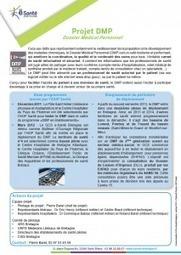 Fiche projet DMP du GCS e-Santé Bretagne   DMP ...   Aie-Santé   Scoop.it