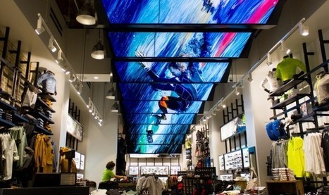 Etats-Unis : La voute digitale du nouveau flagship Oakley à New-York | Amazing World | Scoop.it