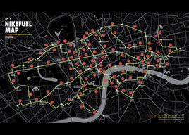 NIKE, Inc. - Nike inspires Londoners with the NikeFuel Map | Nike+ Fuelband | Scoop.it