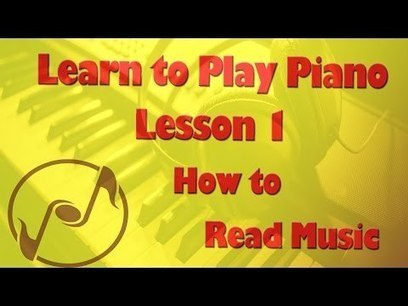 Learn How to Play Piano - Piano Lesson Tutorial 1: How to read music notes on the staff | Just Music Lessons | Scoop.it