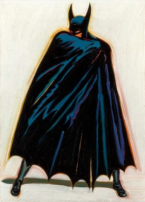 Batman painting traded for stack of comics sells for $173,000 | Comic Book Trends | Scoop.it