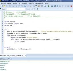 Cómo ejecutar código Python para ArcGIS - MappingGIS | geoinformação | Scoop.it