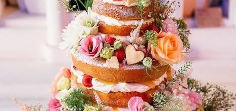 Naked Cake : la tendance culinaire qui met vos gâteaux à nu ! - Cosmopolitan.fr | Food and design | Scoop.it