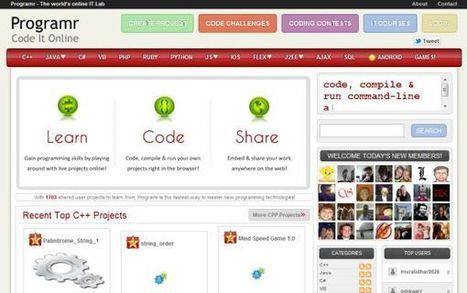 Programr – laboratorio de programación online, añade soporte para crear aplicaciones para Android | software labs | Scoop.it