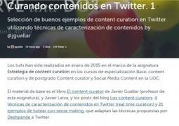 Curando contenidos en Twitter v.1 | Los Content Curators | Cosas de loscontentcurators | Scoop.it