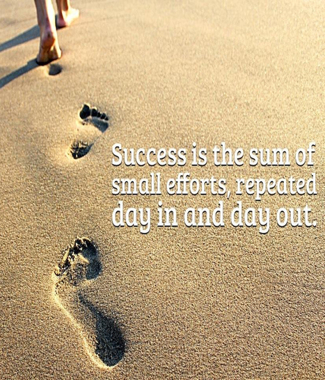 Success is the sum of small efforts | Zquotes | Love Quotes | Scoop.it