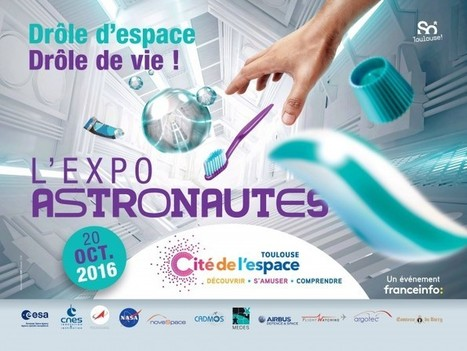 SNELAC Info 171 -La Cité de l'espace, une exposition, un départ, des missions... | les expositions et musées | Scoop.it