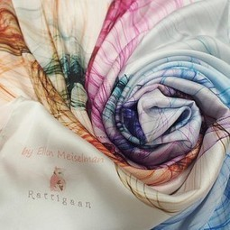 How to Create Your Own Beautiful Piece of Art with Silk | About Art & Creativity | Scoop.it