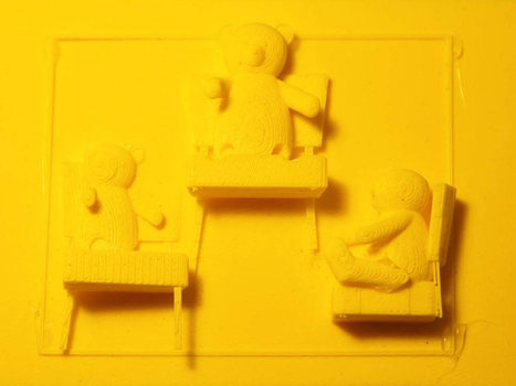 3-D Printed Storybooks for the Visually Impaired | Relentlessly Creative Books | Scoop.it
