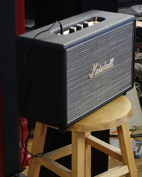 Marshall Hanwell: An 'iPod' speaker on steroids - CNET | Speakers and Monitors | Scoop.it