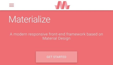 Top 5 Material Design Frameworks in 2016 | W3lessons | Scoop.it
