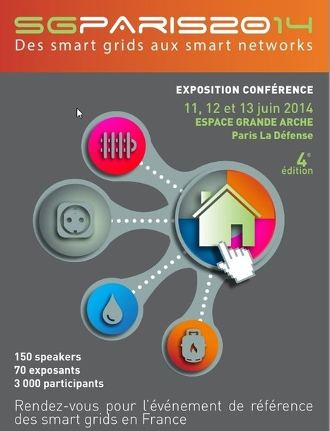 SG PARIS 2014 : RTE, le réseau de l'intelligence électrique au cœur du salon des Smart Grids du 11 au 13 juin | Electrical Grid news | Scoop.it