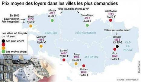 Immobilier : les chiffres 2013 du marché locatif privé en Bretagne | veille technique | Scoop.it