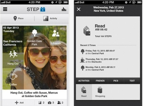9 Lifelogging Apps to Log Personal Data | About STEP Journal | Scoop.it