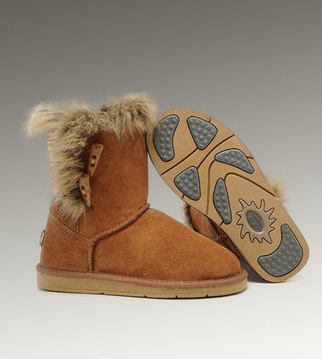 UGG Short Fox Fur 5685 Chestnut Boots - £88.98 | Beats By Dre - Cheap Monster Beats By Dre Outlet Sale | Scoop.it