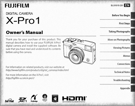 Do you read the manual? Tip 2 - manual focusing | Fujifilm Digital Camera X-Pro1 Owner's Manual | Fuji X-Pro1 | Scoop.it