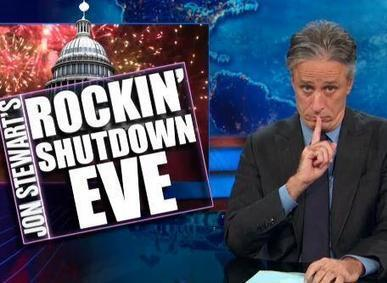 Twitter / TheDailyShow: Jon Stewart's Rockin' Shutdown ... | Government Shutdown | Scoop.it
