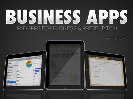 30 Useful iPad Apps for Business & Presentation | teaching with technology | Scoop.it