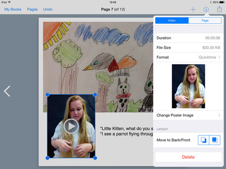 Creating sign language books in Book Creator - Book Creator app | Blog | IPads and technology in the classroom | Scoop.it