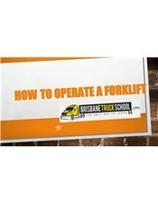 How to Operate a Forklift.pptx | Brisbane Truck School | Scoop.it