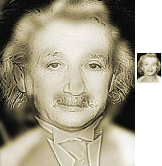 Gurney Journey: Albert or Marilyn? | The brain and illusions | Scoop.it
