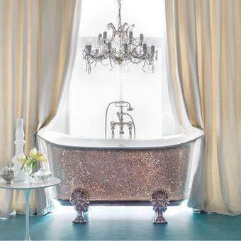 The BathroomWorld Blog: Throw Your Money Away With a £150,000 Crystal Bath   Bathrooms   Scoop.it
