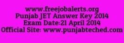 PUNJAB JET Answer Key 2014 download punjabteched.com | careerit jobs | Scoop.it