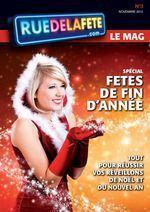 Magazine Ruedelafete.com n° spécial Noël | deguisement pere noel | Scoop.it