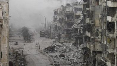 'Eating grass to survive' in besieged Homs   Modern Middle East   Scoop.it