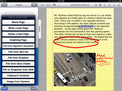 Assistive Technology Blog: PaperPort Notes App for iPad: Notetaking with Dictation | Symlexia | Scoop.it