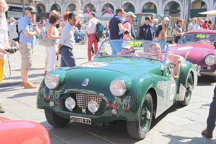 20140515 Italie Brescia - 1000 Miglia - Triumph TR2 Sport -(1954)- | Voitures anciennes - Classic cars - Concept cars | Scoop.it