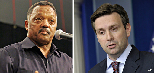 what jackson & obama wanted to see with martin, was a Blood Bath: Jesse Jackson, White House Tepid Responses on Lane Murder Spur Race Debate
