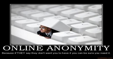 """Is Anonymity Online Truly Possible? 