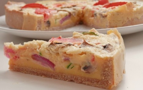 Mixed Veggie Quiche (No Tofu Necessary!) [Vegan] | Vegan Food | Scoop.it