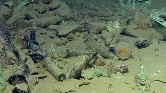Pictures of Deepest Wreck Currently Under Excavation in U.S. Waters | Archaeology News | Scoop.it