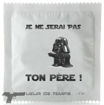 Préservatif Dark Vador | Tueurdetemps.fr | Du côté décalé de la Force | Scoop.it