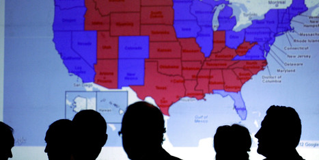 'Red' States Have Higher Divorce Rates Than 'Blue' States, And Here's Why | Gabby Huizinga's Current Events Scrapbook | Scoop.it