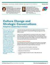 Culture Change and Strategic Conversations | Art of Hosting | Scoop.it