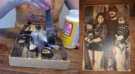 How to Transfer a Photograph Onto a Block of Wood | Everything Photographic | Scoop.it