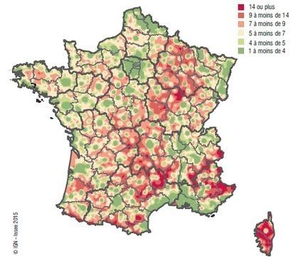 Insee - Services-Tourisme-Transports - L'accès aux services, une question de densité des territoires   développement économique et territoires   Scoop.it