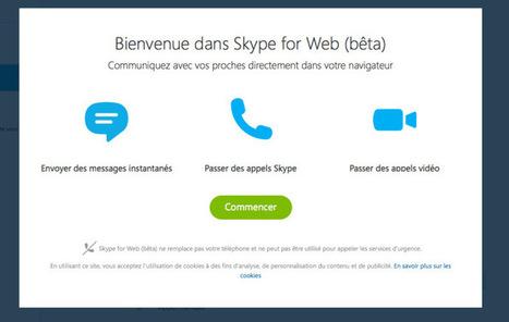 Vous pouvez utiliser la version Web de Skype dès maintenant | Trucs et bitonios hors sujet...ou presque | Scoop.it