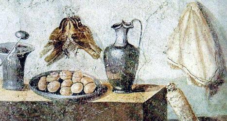 Las sorpresas culinarias de la Antigua Roma - Retiario | Mundo Clásico | Scoop.it