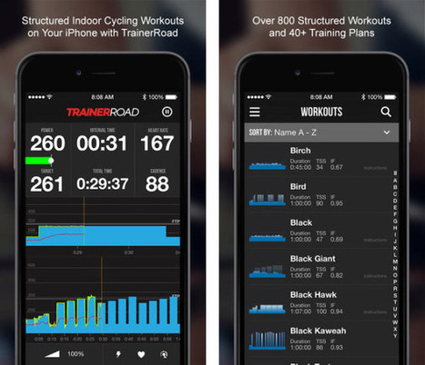 TrainerRoad iOS App Now Available, Puts a Virtual Coach in your Pocket | Sporting life | Scoop.it