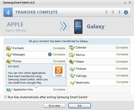 Easy Way to Transfer Content from Old Phone To New Phone. Also work from iPhone to Samsung Android. | App..Apps | Scoop.it