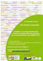 Améliorer l'accompagnement des enfants et adolescents avec autisme - Centre de Ressources Autisme Languedoc Roussillon - CRA-LR Montpellier | Autisme actu | Scoop.it