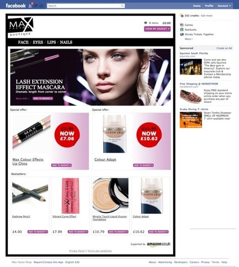11 examples of f-commerce for 2012 | Around facebook. | Scoop.it
