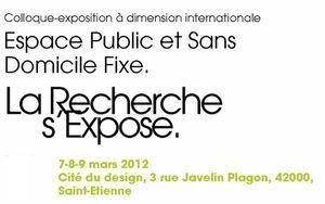 ESPACE PUBLIC ET SANS DOMICILE FIXE - Leblogdelaville | La vie des SHS dans la métropole Lyon Saint-Etienne : veille recherche et enseignement | Scoop.it